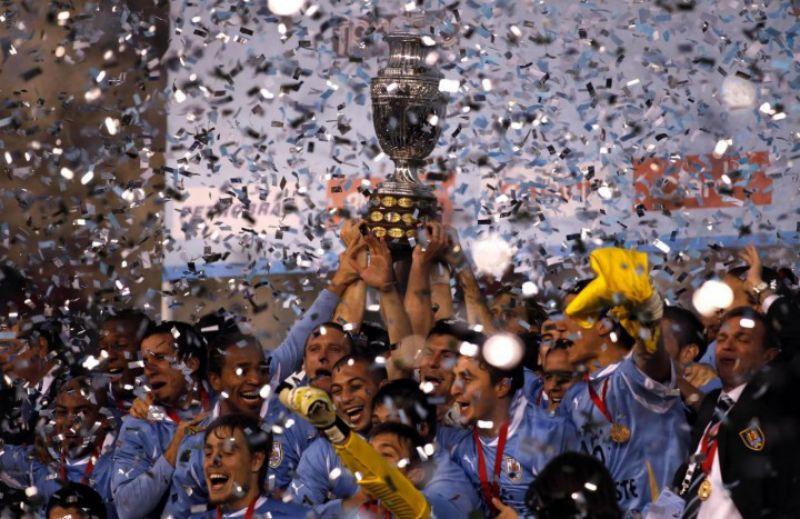 Paraguay-Uguguay - finale coppa America