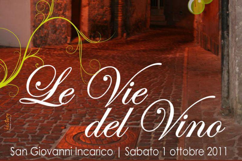 Le vie del Vino - San Giovanni Incarico