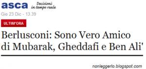 Gli amici di Berlusconi