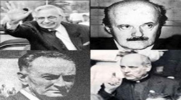 Calvi, Sindona, Gelli e Marcinkus
