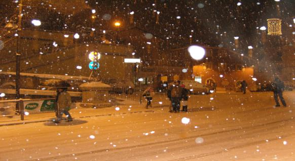 Neve in Ciociaria