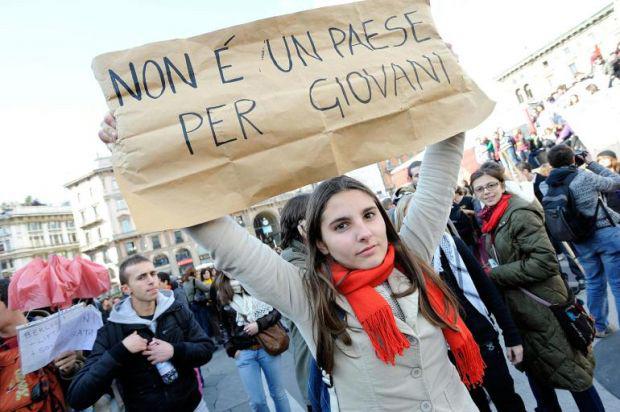 economia giovani italiani