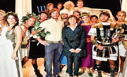 """Renata """"Ballarò"""" Polverini e la macchina del tempo. Next stop Alto Medioevo."""