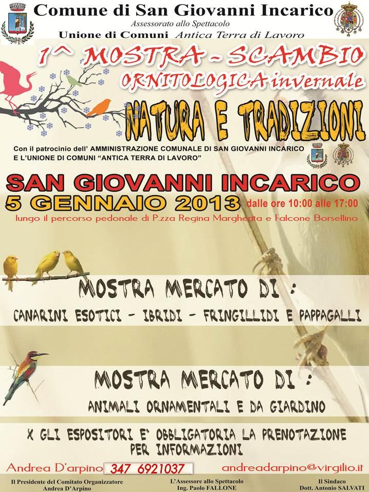 San Giovanni Incarico- 1 mostra Ornitologica