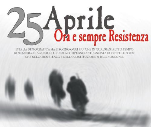 25 Aprile- Resistenza