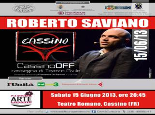 Roberto Saviano-Cassino Off