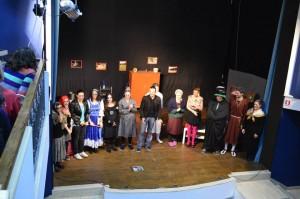 """La compagnia teatrale """"Dietro le quarte"""" di San Giovanni Incarico"""