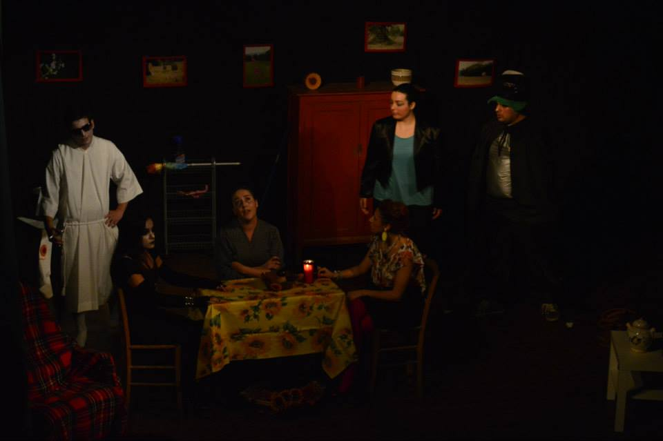 Dalla sinistra : Matteo D'Anella, Chiara Nicolella, Martina Mollo, Michela Pizzuti, Fabiola Cichelli e Mauro Stracqualursi