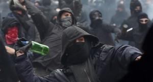 Black Bloc- scontri Milano