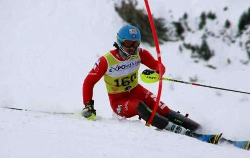 Tommaso Sala, sciatore. Gigante