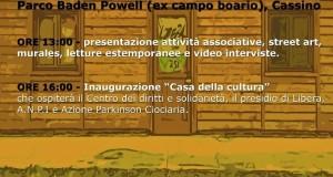 Programma inaugurazione Casa della Cultura Cassino
