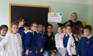 Giuseppe Vicino, incontro a scuola